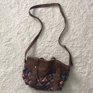 H&M patterned bag